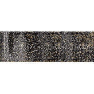 Drey Gray Area Rug Rug Size: Runner 27 x 81
