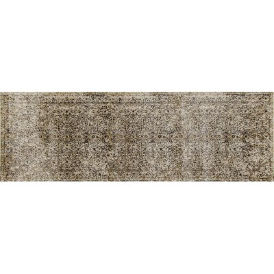 Devay Cream Area Rug Rug Size: Runner 27 x 81