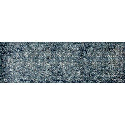Devay Tibetan Aqua Area Rug Size: Runner 2 7 x 8 1
