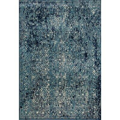 Devay Tibetan Aqua Area Rug Size: 1011 x 15