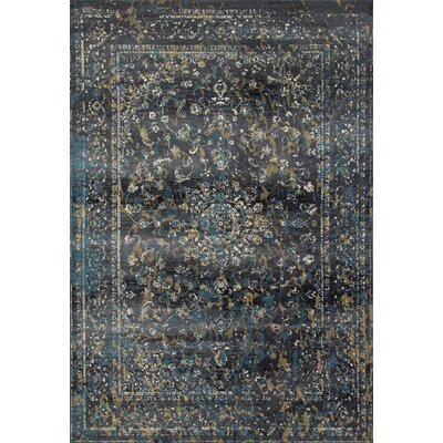 Devay Gray Indoor Area Rug Size: 22 x 37