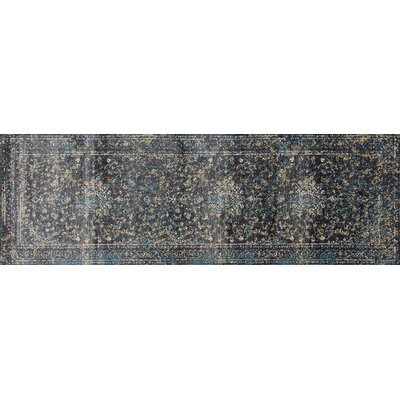 Devay Gray Indoor Area Rug Size: Runner 27 x 81