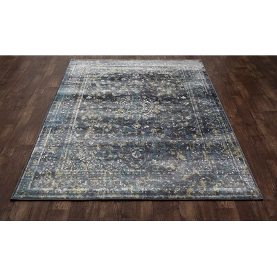 Devay Gray Indoor Area Rug Size: 92 x 126