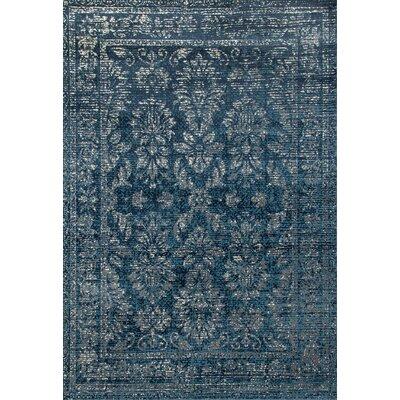 Devay Blue Area Rug Rug Size: 311 x 511