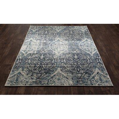 Devay Tibetan Steel Blue Area Rug Rug Size: 710 x 11