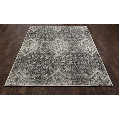 Devay Tibetan Brown/Mushroom Area Rug Rug Size: 53 x 77