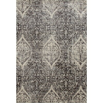 Devay Tibetan Brown/Mushroom Area Rug Rug Size: 67 x 96