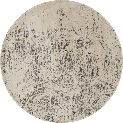Devay Mushroom Area Rug Rug Size: ROUND 53
