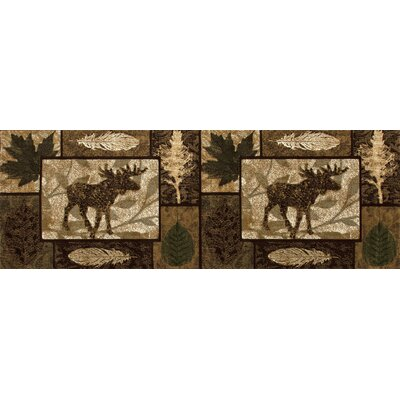 Burhill Moose Creek Area Rug Rug Size: 22 x 311
