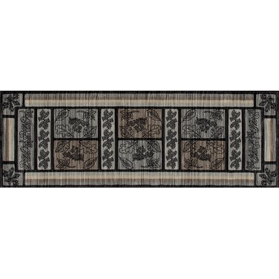 Raritan Stone Mountain Gray Area Rug Rug Size: Runner 22x77