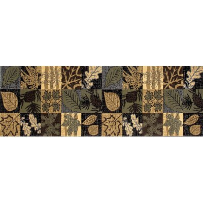 Raritan Smokey Mountains Green Area Rug Rug Size: Runner 22x77