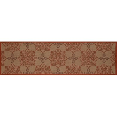 Plymouth Tan Indoor/Outdoor Area Rug Rug Size: 67 x 92