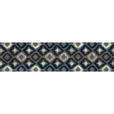 Hershberger Gray Area Rug Rug Size: Runner 22 x 9