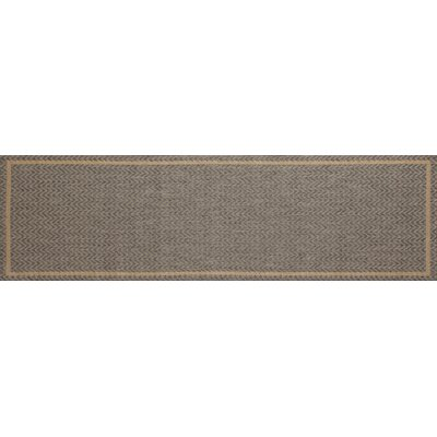 Beaminster Gray Indoor/Outdoor Area Rug Rug Size: Runner 27 x 9