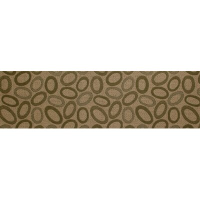 Lusk Green/Cream Indoor/Outdoor Area Rug Rug Size: Runner 27 x 9