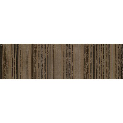 Plymouth Black/Tan Indoor/Outdoor Area Rug Rug Size: Runner 27 x 9
