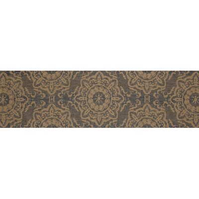 Cazares Gray/Beige Indoor/Outdoor Area Rug Rug Size: Runner 27 x 9