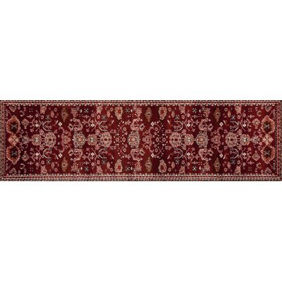 Sabanc Red Area Rug Rug Size: Runner 22 x 77