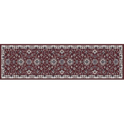 Jack Red Area Rug Rug Size: Runner 22 x 77