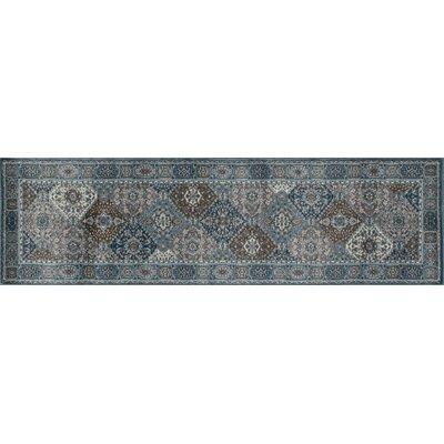 Jack Multi-Colored Area Rug Rug Size: Runner 22 x 77