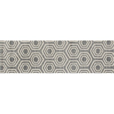 Highline Gray Area Rug Rug Size: Runner 2 x 8