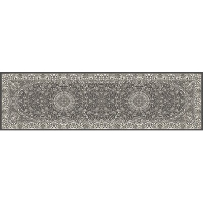 Lang Gray Area Rug Rug Size: Runner 27 x 11
