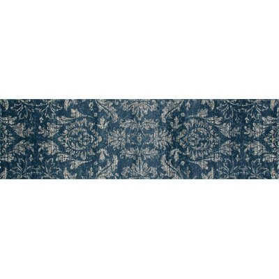 Arabella Blue Area Rug Rug Size: Runner 2 x 8