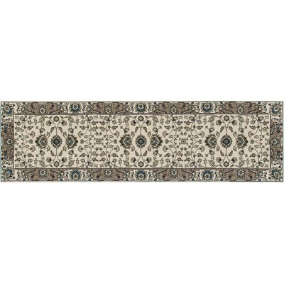 Lang Cream Area Rug Rug Size: Runner 27 x 11