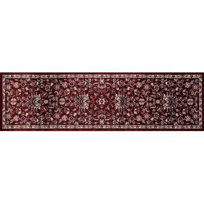 Jack Red Area Rug Rug Size: Runner 2'2