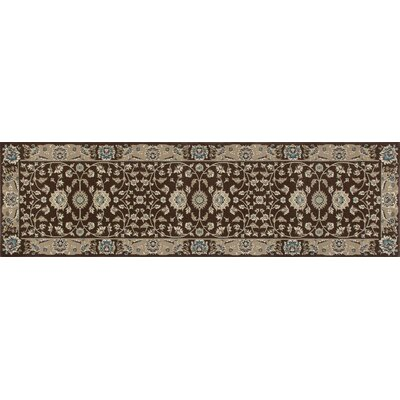 Lang Brown Area Rug Rug Size: Runner 27 x 11