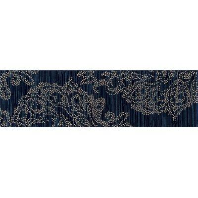 Klahn Blue Area Rug Rug Size: Runner 22 x 77