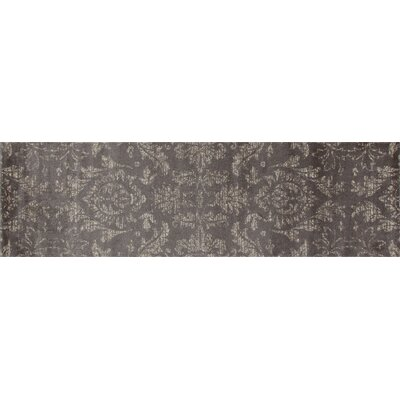Arabella Gray Area Rug Rug Size: Runner 2 x 8