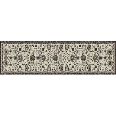 Arabella Cream Area Rug Rug Size: Runner 2 x 8