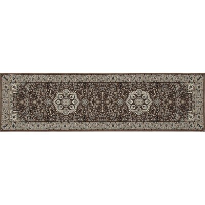 Lang Brown Area Rug Rug Size: Runner 22 x 77