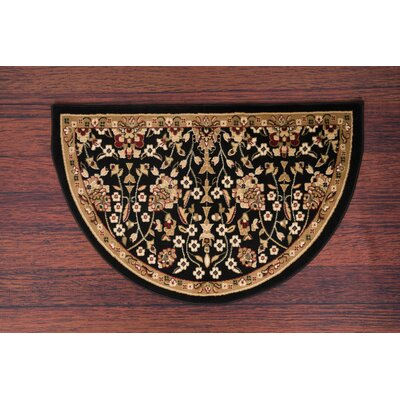 Willard Black/Beige Area Rug Rug Size: Slice 2.7 x 4.1
