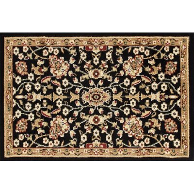 Willard Black/Beige Area Rug Rug Size: Rectangle 2.7 x 4.1