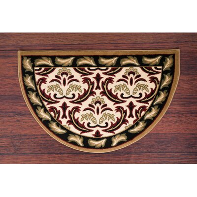 Willard Black/Green Area Rug Rug Size: Slice 2.7 x 4.1