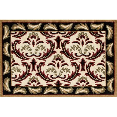 Willard Black/Green Area Rug Rug Size: Rectangle 2.2 x 3.3