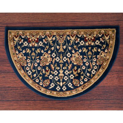Willard Navy/Beige Area Rug Rug Size: Slice 2.2 x 3.3
