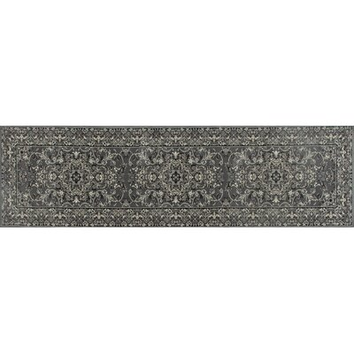 Channel Gray Area Rug Rug Size: Runner 22 x 9