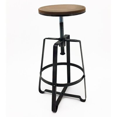Turner Adjustable Height Bar Stool