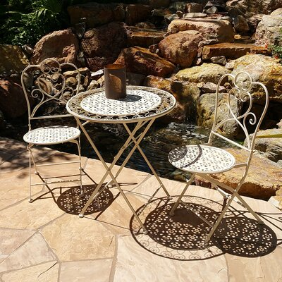 Marseille 3 Piece Bistro Dining Set