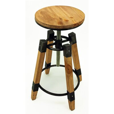 Wyland Adjustable Height Bar Stool