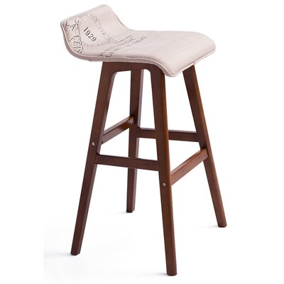 Stanton Lo Back 28.4 Bar Stool