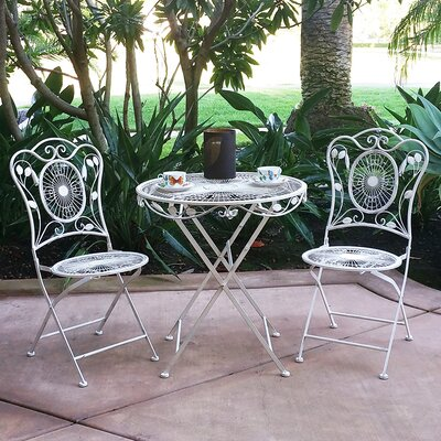 Bordeaux 3 Piece Bistro Dining Set