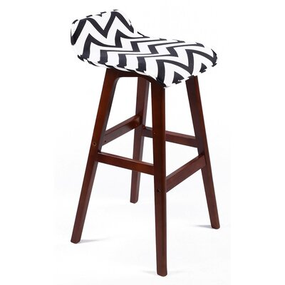 Stanton Lo Back 33 Bar Stool