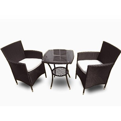 Kensington 3 Piece Bistro Dining Set
