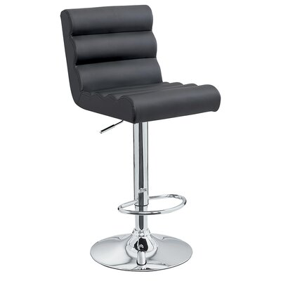 Jason Adjustable Height Swivel Bar Stool