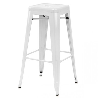 Ajax 30 Bar Stool Finish: White