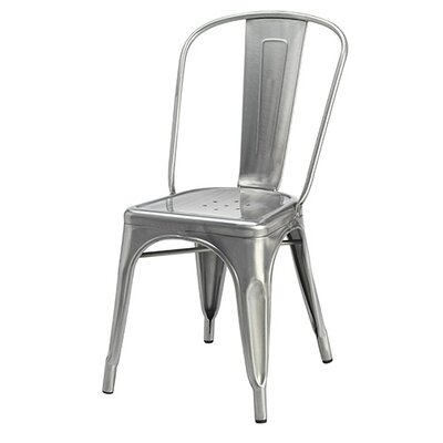 Cassandra Side Chair Finish: Gunmetal